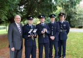 Mayo gardaí honoured for acts of bravery