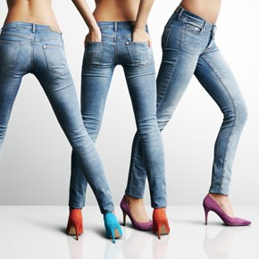 FASHION Find the perfect jeans for your shape