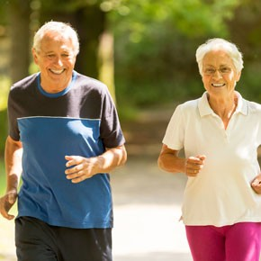 HEALTH Age is no obstacle to running