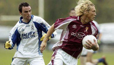 Ciaran McDonald available for their league games in 2007.