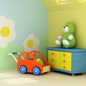 Interior Design - Children's Bedrooms