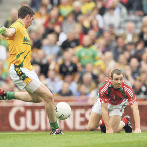 Image of Mayo's Keith Higgins