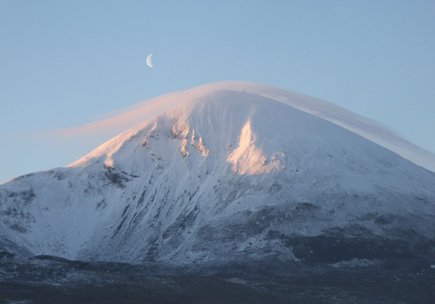 Sunrise on Croagh Patrick