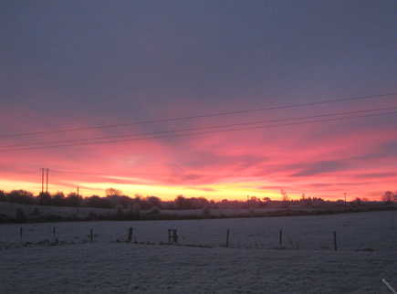Sunrise in Ballinrobe
