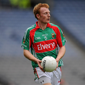 Mayo's Richie Feeney has made the number five jersey his own this season.?