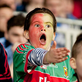 Young Mayo supporter