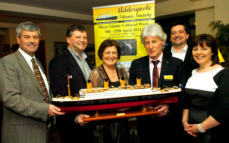 Launch of the Mayo Titanic Cultural Week
