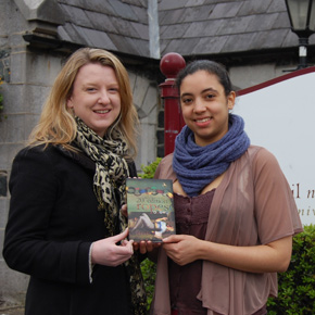 Orla Reilly (Castlebar) and Áine Mulloy (Westport), project manager and marketing executive, respectively, for Ropes 2012.