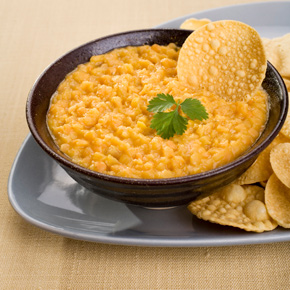 A lentil dhal is a delicious, healthy way to introduce spices into your diet.