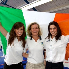 Physios Michelle Biggins, Mary Walsh and Sinéad Moffatt are off to London this week to help out at the Olympic Games.