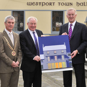 Westport Town Hall receives €920,000 in funding from Fáilte Ireland