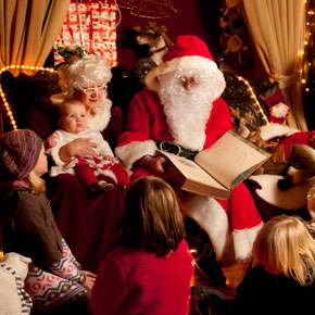 Win a family pass to Westport House's Winter Wonderland