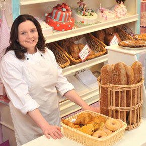 Yvonne Higgins-Murphy, who opened Devour Bakery in Ballinrobe last July