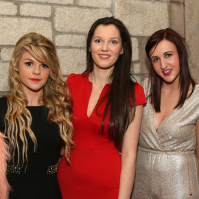 The 2013 Mayo Minor All-Ireland winning football team received their medals at a special function in the Breaffy House Resort, Castlebar, last Friday. Pictured at the function supporting the minor players were, from left: Niamh Rooney, Claremorris; Michelle O'Keefe, Swinford; Eithne Coleman, Knock; Lisa Bourke, Irishtown and Chloe Stephens, Ballindine.