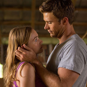 Britt Robertson and Scott Eastwood star in 'The Longest Ride'.