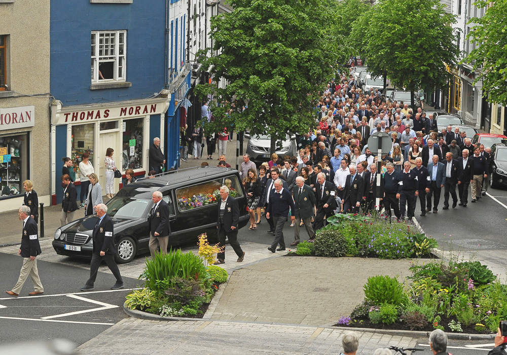 3798488625b62 'Father of Westport' Colam O'Neill laid to rest