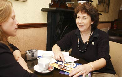 Claire Egan from The Mayo News talks to Mary Heavey
