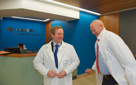 Enda Kenny at Allergan