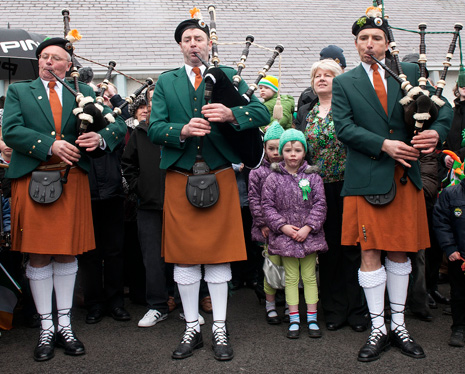 Achill pipers