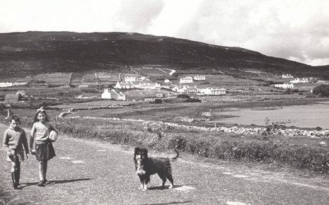 A whole host of Mayo News readers in Achill identified Christine and PJ Masterson, and Prince the dog, from this Times Past picture published in last week's edition.