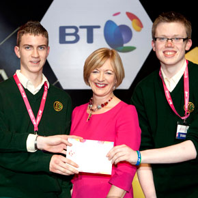 Winning Mayo projects at the Young Scientists exhibition 2013