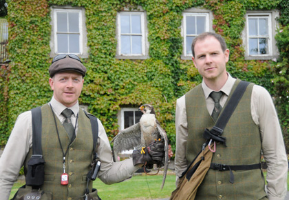Jason-Deasy-left-and-Leo-Doherty-with-peregrine-falcon