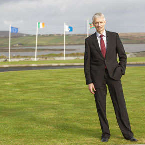 Michael Crothers, outgoing Managing Director of Shell.